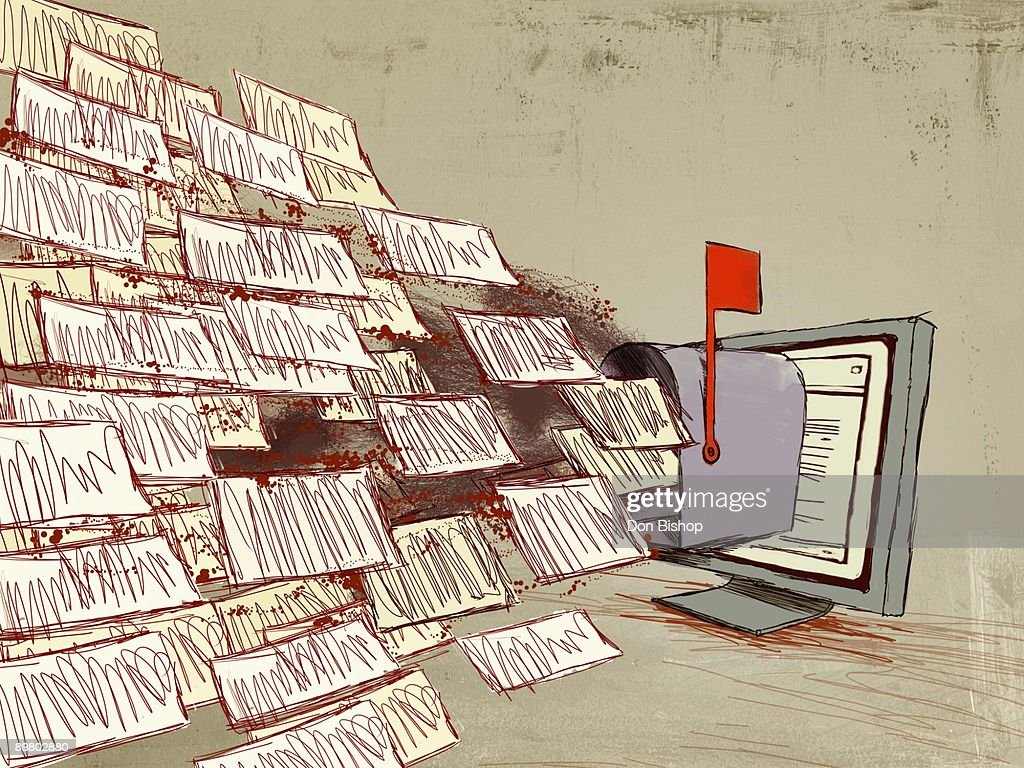 E-mail concept : Stock Photo