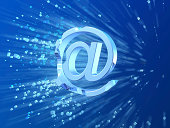 E-mail crash symbol