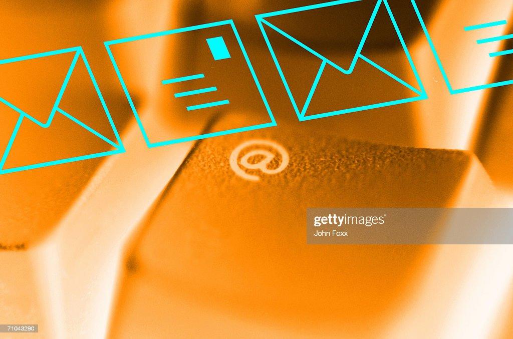 e-mail : Stock Photo