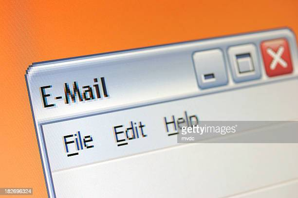 E-mail window