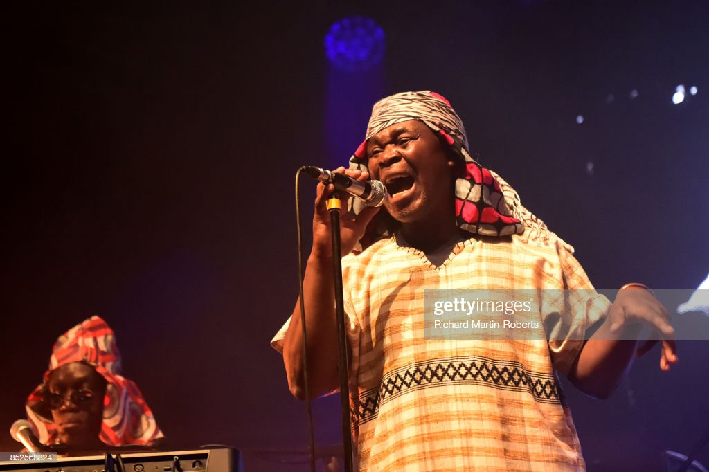 Emanuel Jagari Chanda of W.I.T.C.H performs on stage during the Liverpool International Festival of Psychedelia on September 23, 2017 in Liverpool, England.