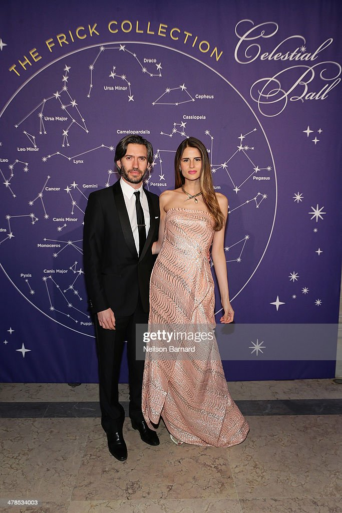 Emanuel Michael and Sandrina Bencomo attend the Young Fellows Celestial Ball presented by PAULE KA at The Frick Collection on March 13, 2014 in New York City.