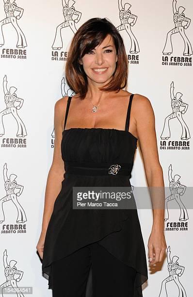 Emanuela Folliero attends 'La Febbre del Sabato Sera' photocall at Teatro Nazionale on October 18 2012 in Milan Italy