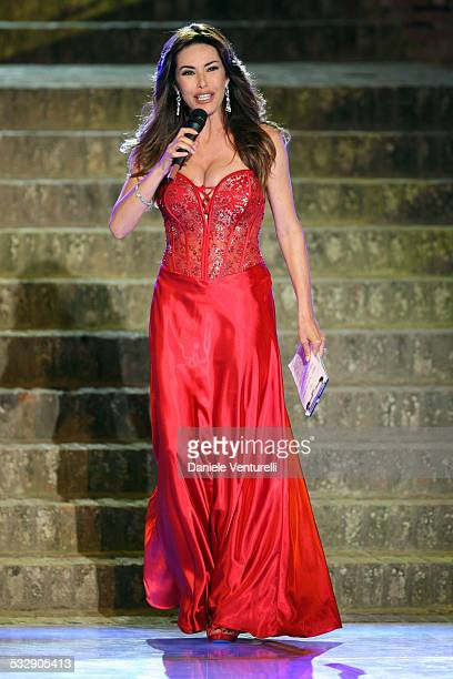 Emanuela Folliero attends 'Sfilata D' Amore e Moda' at Trepponti on June 17 2009 in Comacchio Italy