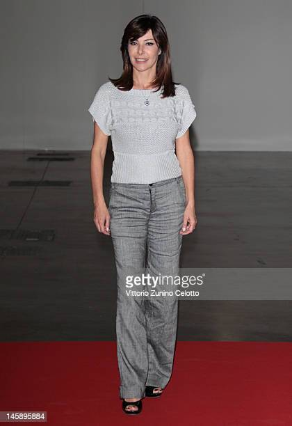 Emanuela Folliero attends the 2012 Convivio charity gala event on June 7 2012 in Milan Italy