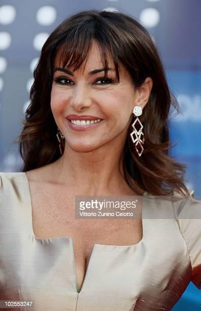 Emanuela Folliero attends the Mediaset Night TV Programming Presentation on June 30 2010 in Milan Italy