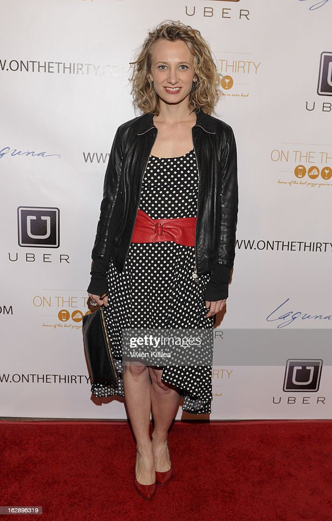 Emanuela Galliussi attends 'On The Thirty' Grand Opening at On The Thirty on February 28, 2013 in Sherman Oaks, California.