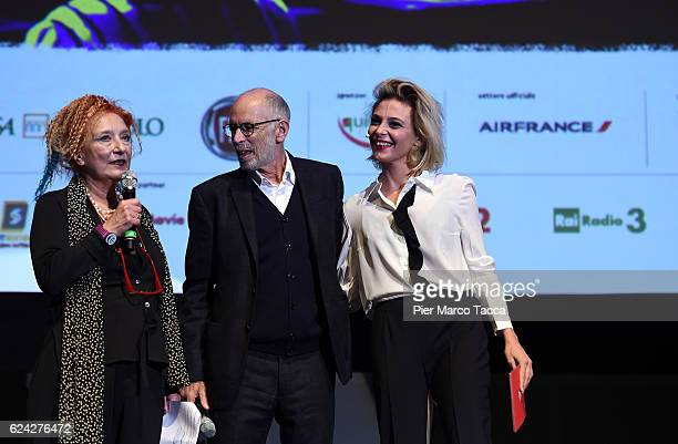 Emanuela Martini Director of Torino Film Festival Gabriele Salvatores and Jasmine Trinca attend the Opening Ceremony of the 34 Torino Film Festival...