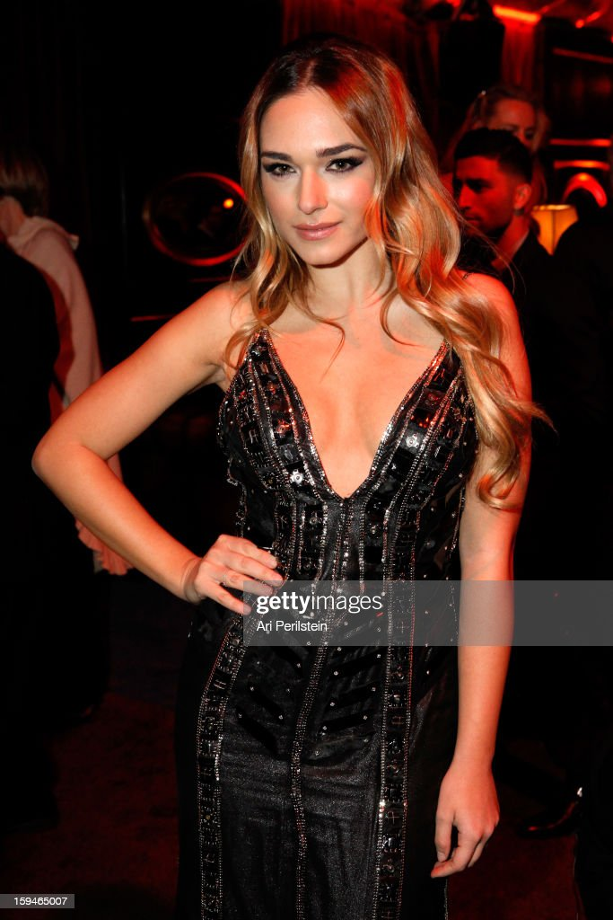 Emanuela Postacchini attends the The Weinstein Company's 2013 Golden Globe Awards after party presented by Chopard, HP, Laura Mercier, Lexus, Marie Claire, and Yucaipa Films held at The Old Trader Vic's at The Beverly Hilton Hotel on January 13, 2013 in Beverly Hills, California.