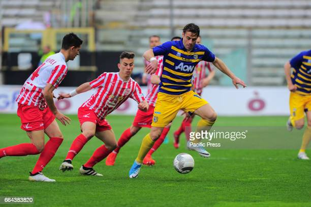 Emanuele Calaiò Parma's forward during the National Championship Lega Pro match between Parma Calcio 1913 and Maceratese at Tardini Stadium in Parma...