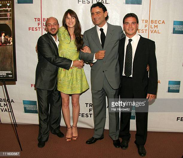 Emanuele Crialese director Charlotte Gainsbourg Vincenzo Amato and Francesco Cassa