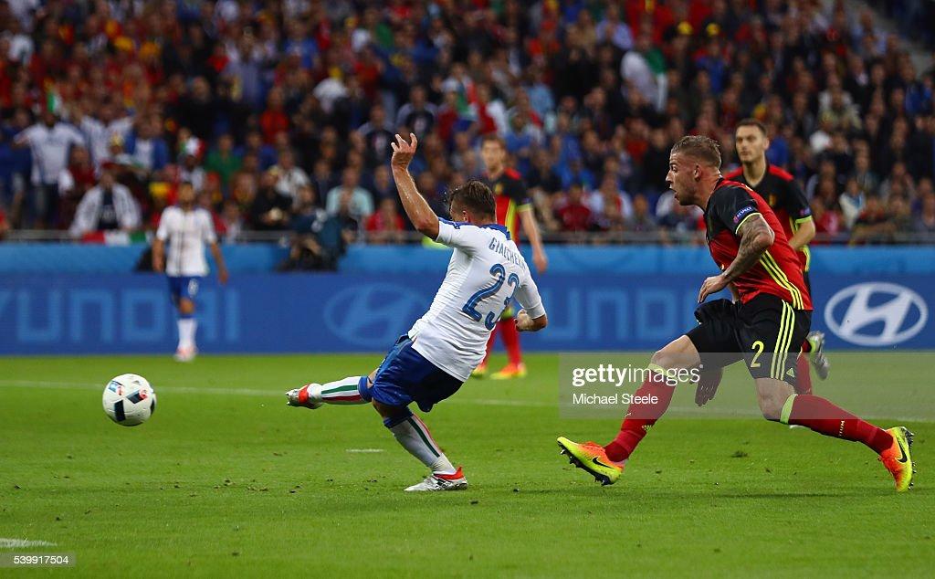 Belgium v Italy - Group E: UEFA Euro 2016