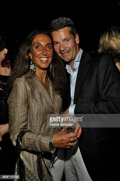 Emanuella Lucadazio and Felix Lauscher attend STELLA KESAEV Of STELLA ART FOUNDATION Hosts Cocoktail And Exclusive Concert Of Italian Blusesman PAOLA...