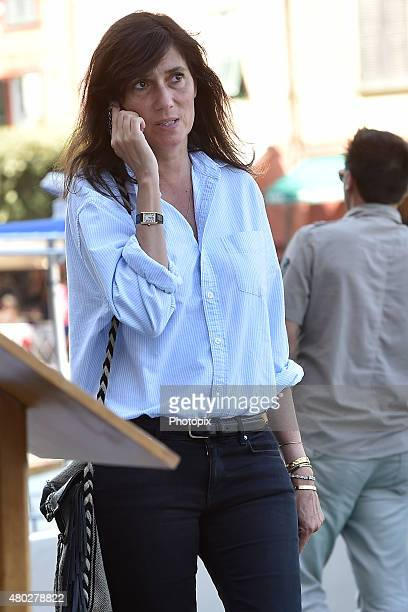 Emanuelle Alt is seen on July 10 2015 in Portofino