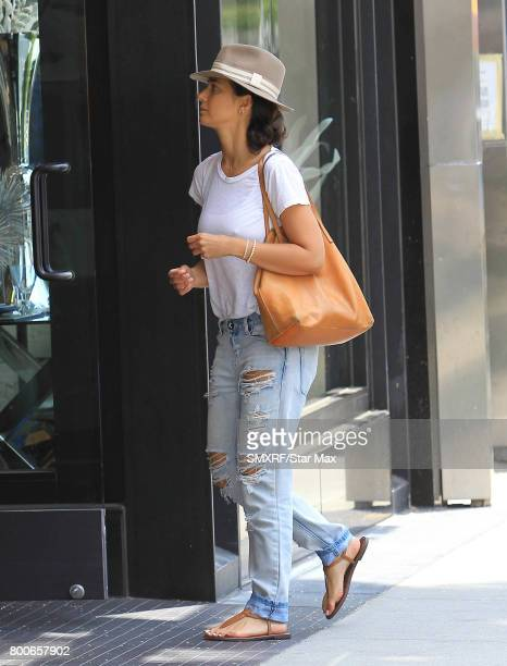 Emanuelle Chriqui is seen on June 24 2017 in Los Angeles California