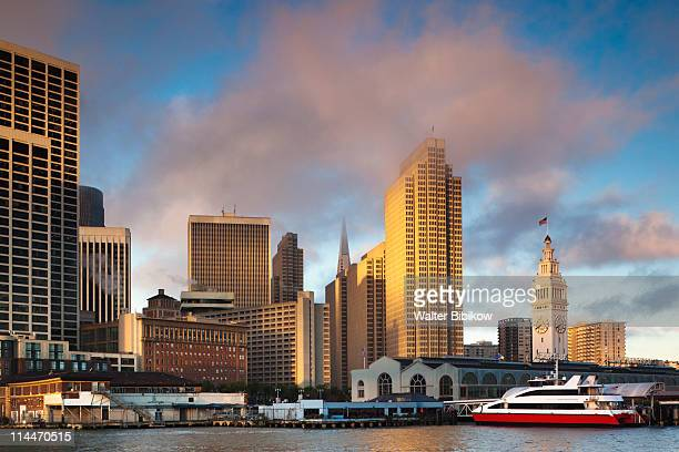 Embarcadero, downtown and Ferry Building