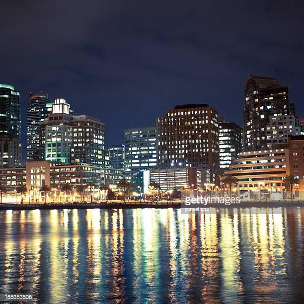 Embarcadero waterfront in San Francisco