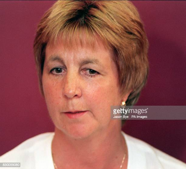 **Embargo 0001 hours thursday 20th August** Carol Marshall the mother of murdered schoolboy Thomas Marshall speaking to the media on Monday where she...