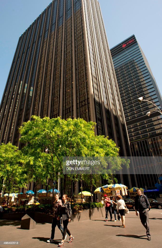 A view of the Time Life Building is viewed on the Avenue of the Americas June 2 2014 in New York Time Inc is getting a fresh start with its upcoming...