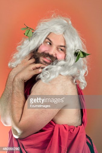 Embarrassed God : Stock Photo