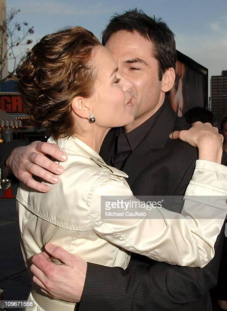 Embeth Davidtz and Billy Burke during 'Fracture' Los Angeles Premiere Red Carpet at The Mann Village Theatre in Westwood California United States
