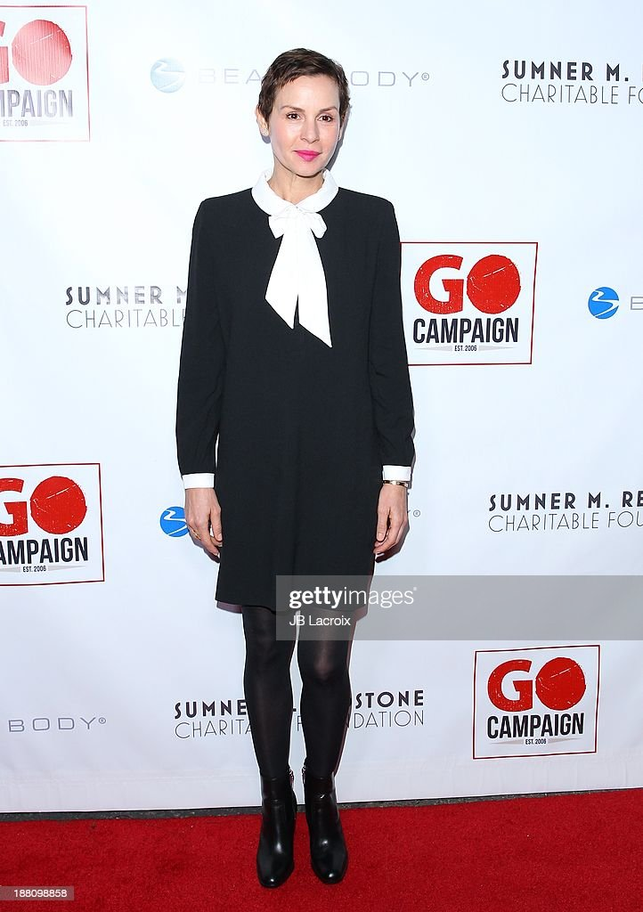 <a gi-track='captionPersonalityLinkClicked' href=/galleries/search?phrase=Embeth+Davidtz&family=editorial&specificpeople=810596 ng-click='$event.stopPropagation()'>Embeth Davidtz</a> attends the 6th Annual GO GO Gala at Bel Air Bay Club on November 14, 2013 in Pacific Palisades, California.