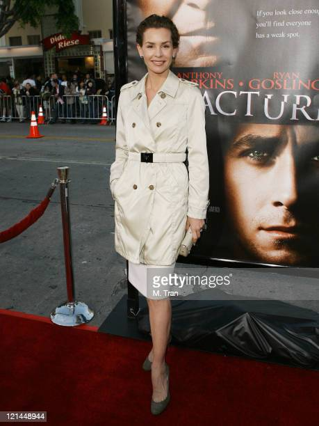 Embeth Davidtz during 'Fracture' Los Angeles Premiere Arrivals at Mann Village Theater in Westwood California United States