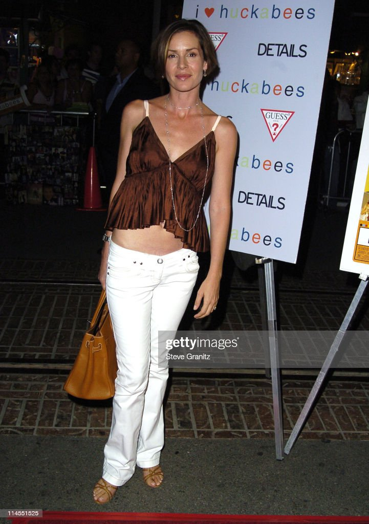 Embeth Davidtz during 'I Heart Huckabees' Los Angeles Premiere - Arrivals at The Grove in Hollywood, California, United States.