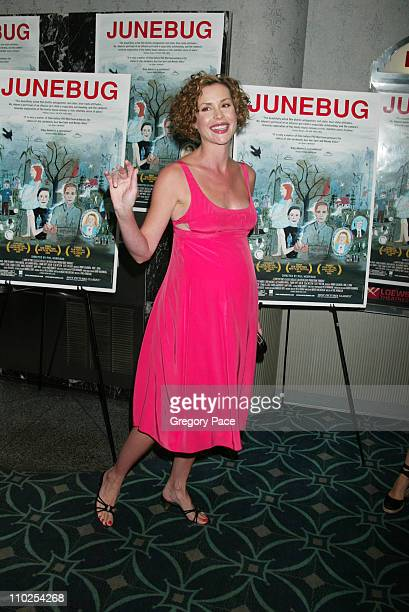Embeth Davidtz during 'Junebug' New York City Premiere Inside Arrivals at Loews 19th Street in New York City New York United States