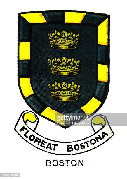 Emblem for Boston High School Boston Lincolnshire United Kingdom a selective grammar school and sixth form college The school was founded in 1914