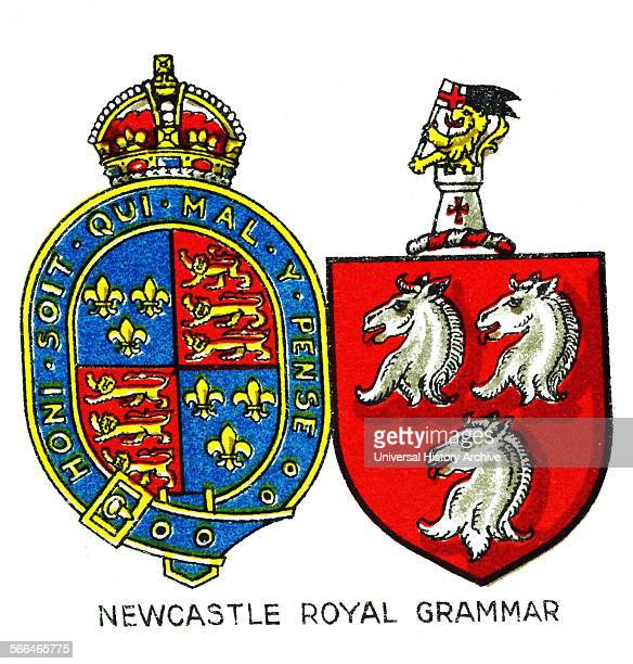 Emblem for Newcastle Royal Grammar School NewcastleuponTyne a selective British independent school It was founded by Thomas Horsley in 1525