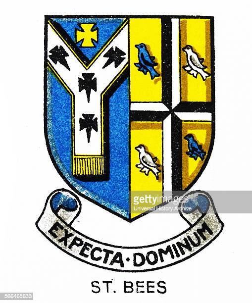 Emblem for St Bees School a coeducational school in the West Cumbrian village of St Bees Founded in 1583 by the then Archbishop of Canterbury Edmund...