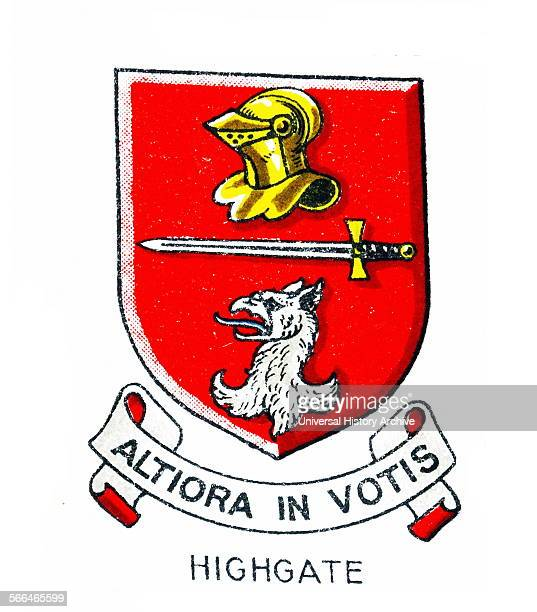 Emblem of Highgate College Winchester Hampshire an independent school for boys in the British public established school tradition It is the oldest of...