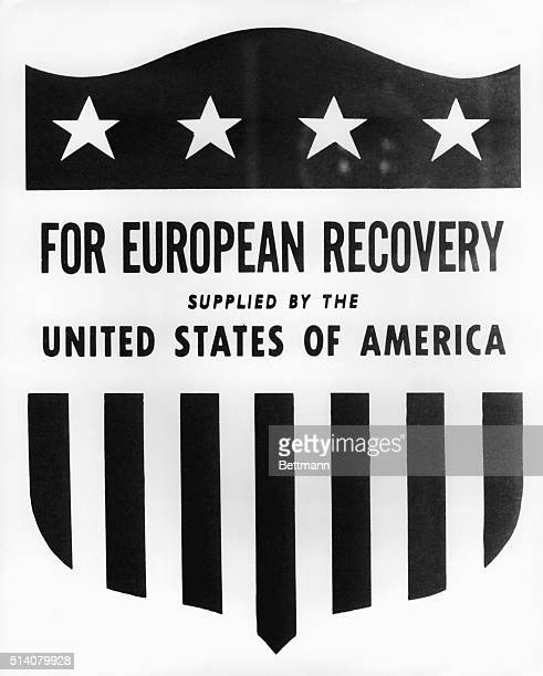 ERP Emblem Washington Copy of the colored stars and stripes emblem which will be stamped on every relief package sent abroad under the European...