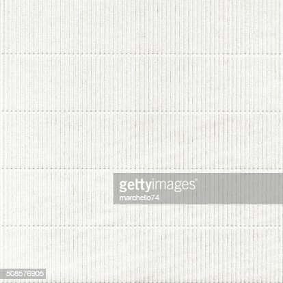 Embossed white paper with pattern : Stock Photo
