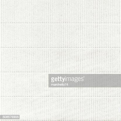 Libro bianco con motivo in rilievo : Foto stock