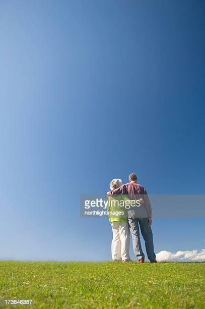 couple d'âge mûr