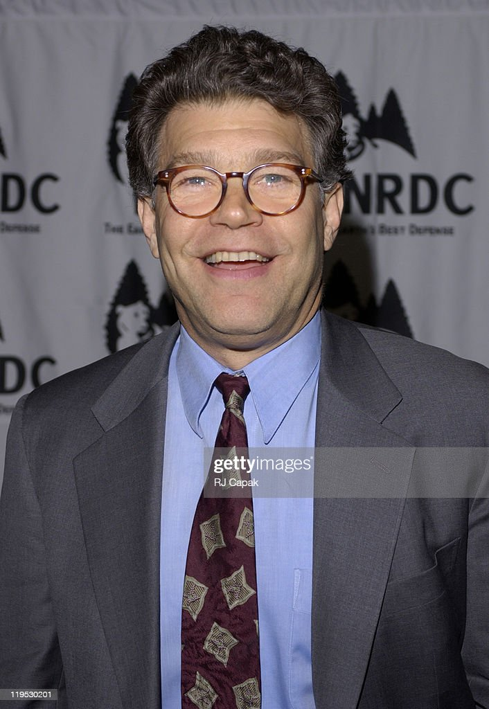 Emcee <a gi-track='captionPersonalityLinkClicked' href=/galleries/search?phrase=Al+Franken&family=editorial&specificpeople=167079 ng-click='$event.stopPropagation()'>Al Franken</a> during NRDC's 4th Annual Forces For Nature Gala Event Honoring Trudie Styler, Dan Tishman And Gary Trudeau With Performance By James Taylor at Chelsea Piers, Pier Sixty in New York City, New York, United States.