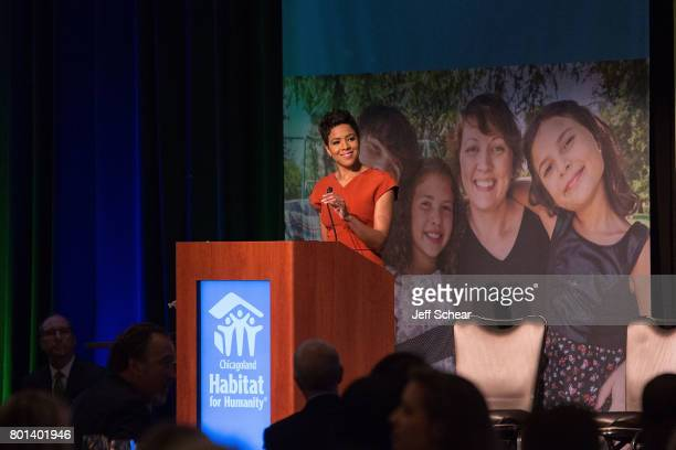 Emcee Irika Sargent Weekday Anchor CBS2 Chicago recounts her first experience volunteering on a Habitat build site at the Habitat Hero Award Dinner...