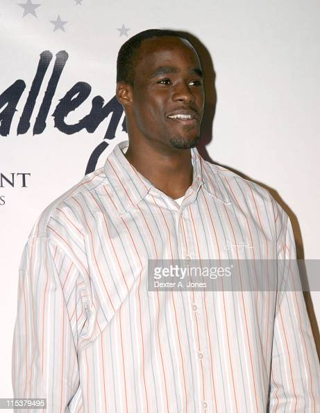 Emeka Okafor during The 8Ball Challenge Celebrity Pool Tournament Hosted by Alonzo Mourning and Carmelo Anthony at Wynkoop Brewing Company in Denver...