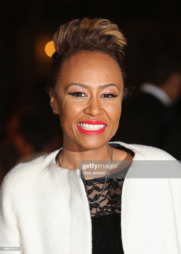 Emeli Sandé attends the British Asian Trust reception at Victoria Albert Museum on February 5 2014 in London England