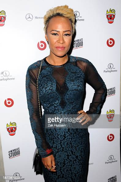 Emeli Sande arrives for the Beats by Dre present Tinie Tempah's album launch party at DSTRKT on November 7 2013 in London England Demonstration...