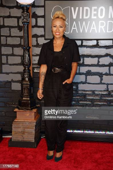 Emeli Sande attends the 2013 MTV Video Music Awards at the Barclays Center on August 25 2013 in the Brooklyn borough of New York City