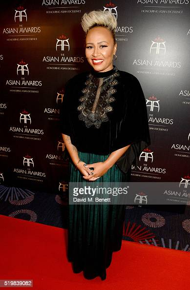 Emeli Sande attends the 6th Annual Asian Awards at The Grosvenor House Hotel on April 8 2016 in London England