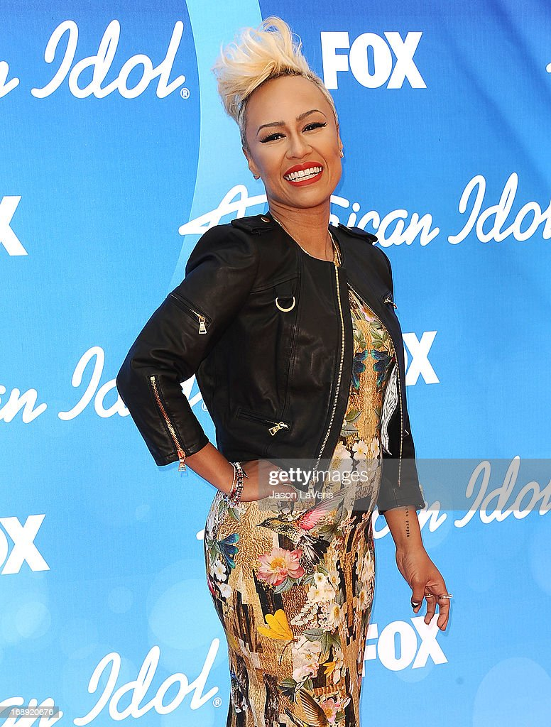 Emeli Sande attends the American Idol 2013 finale at Nokia Theatre L.A. Live on May 16, 2013 in Los Angeles, California.