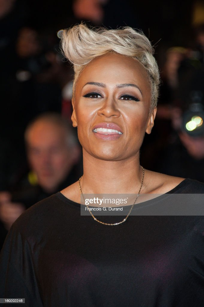 Emeli Sande attends the NRJ Music Awards 2013 at Palais des Festivals on January 26, 2013 in Cannes, France.