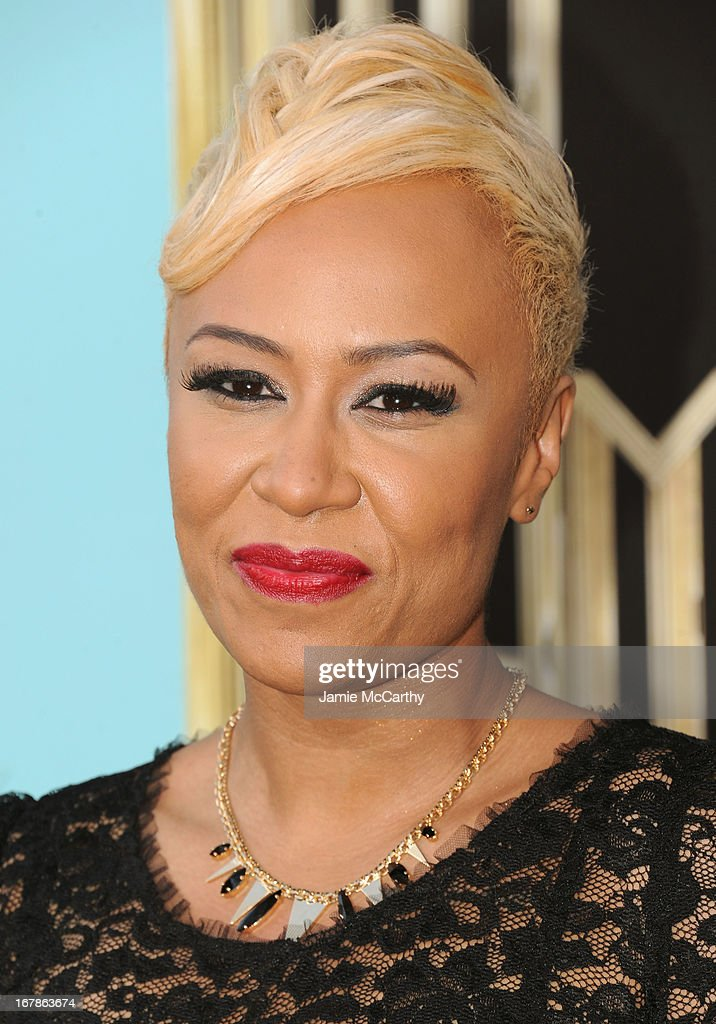 Emeli Sande attends the 'The Great Gatsby' world premiere at Avery Fisher Hall at Lincoln Center for the Performing Arts on May 1, 2013 in New York City.