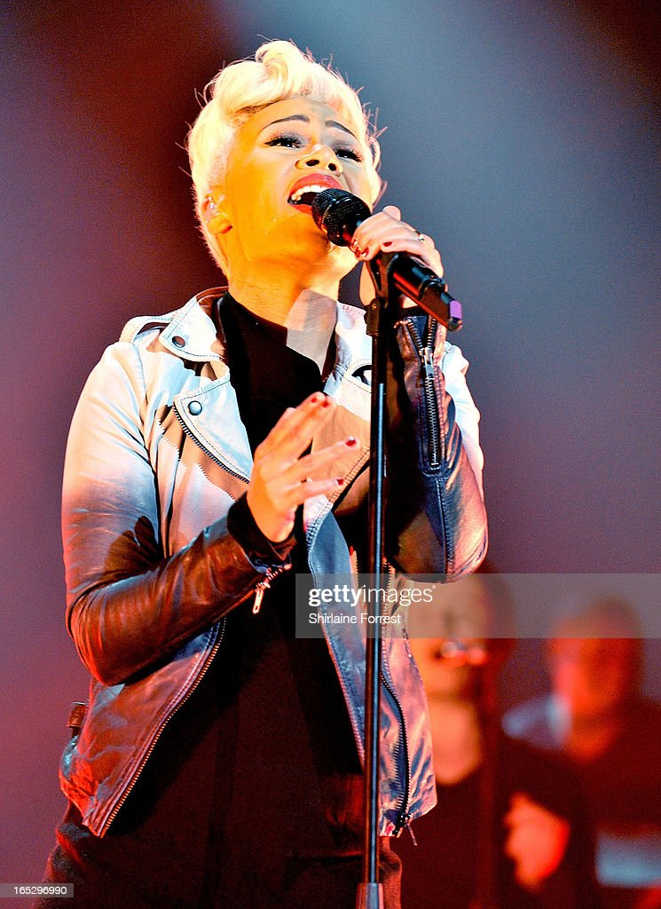 Emeli Sande performs a sold out show at 02 Apollo Manchester on April 2, 2013 in Manchester, England.