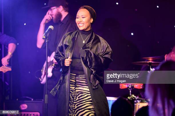 Emeli Sande performs at the Amy Winehouse Foundation Gala at The Dorchester on October 5 2017 in London England