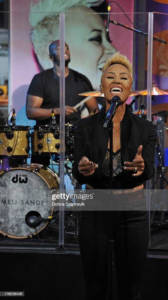 AMERICA - Emeli Sande performs live on 'Good Morning America,' 8/27/13, airing on the ABC Television Network. EMELI